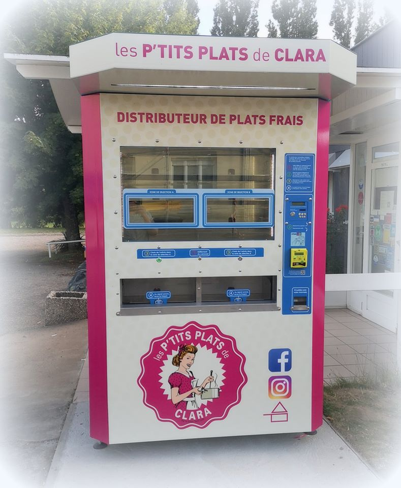 distributeur automatique de plats